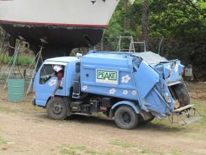 Tiny Trash Truck in Trinidad